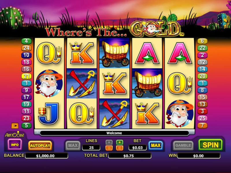 Where's the Gold Pokies Review
